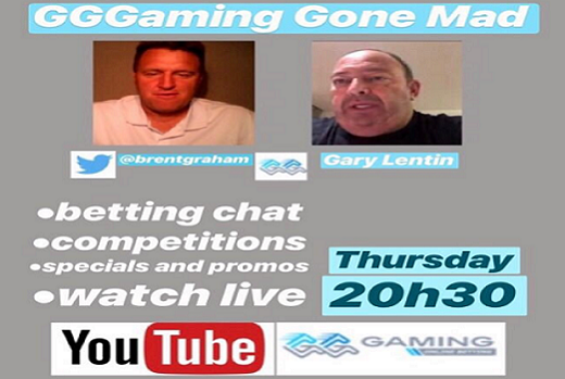 GGGaming Gone Mad, Thu 18th October