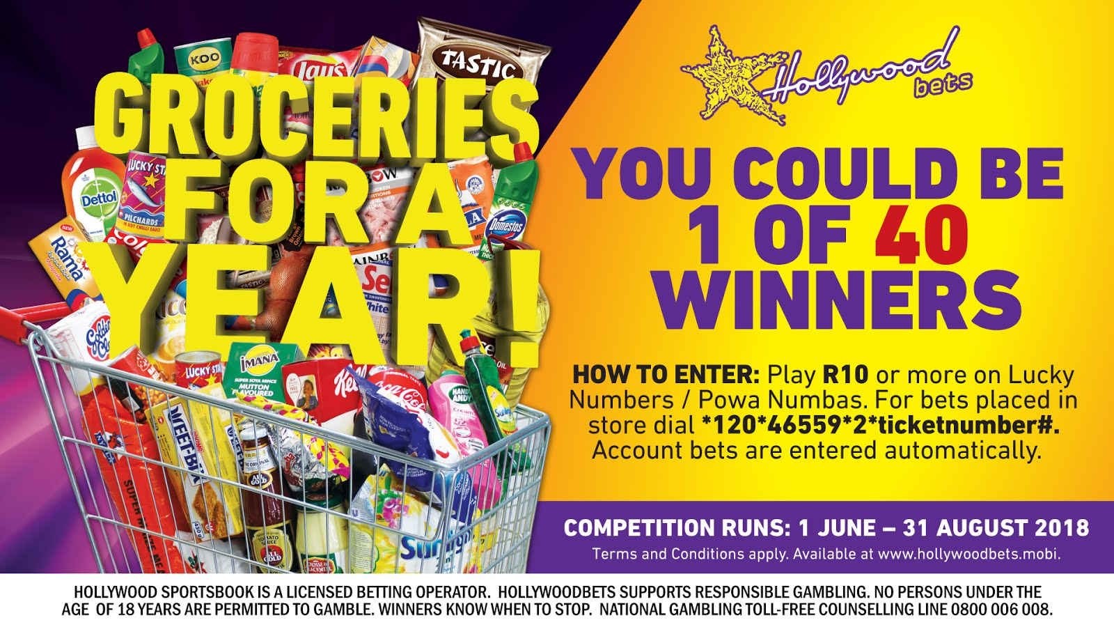 Win Groceries for a Year